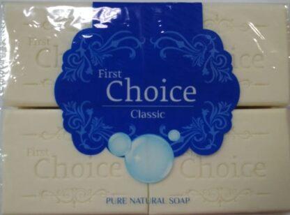 First Choice Классическое хозяйственное мыло 4*125 гр