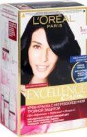 Loreal EXCELLENCE Creme 100 Черный Крем-краска для волос