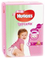 Huggies трусики для девочек 5 (13-17 кг) 15 шт