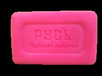 Русь Чистая забота Ярко-розовое туалетное мыло 250 гр