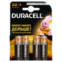 Duracell MN1500 АА/4 щелочные пальчиковые батарейки (цена за 1 шт)