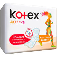 Kotex Active Normal плюс Прокладки 8 шт