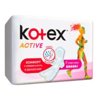 Kotex Active Super плюс Прокладки 7 шт