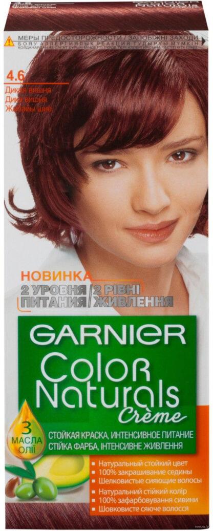 Garnier Color Naturals 4.6 дикая вишня крем-краска для волос