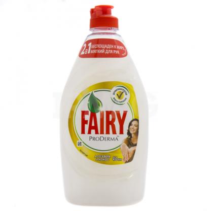 FAIRY Алоэ вера и кокос 450 мл средство для мытья посуды