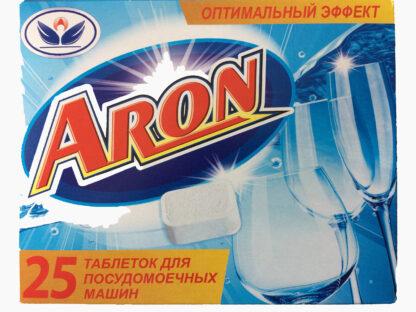ARON ТАБЛЕТКИ для посудомоечных машин 25 шт