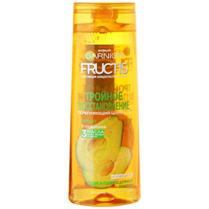 Garnier Fructis Тройное восстановление для сухих и поврежденных волос укрепляющий Шампунь 250 мл