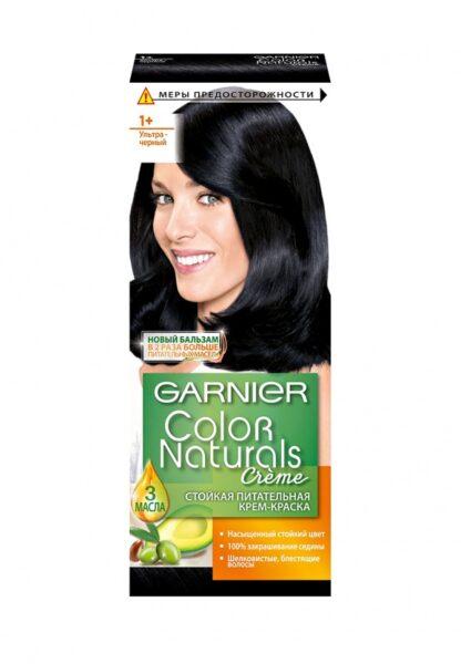 Garnier Color Naturals 1+ ультрачерный крем-краска для волос