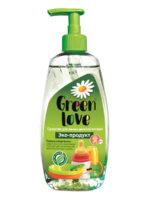 Green Love Эко-продукт гипоаллергенное средство для мытья детской посуды 500 мл