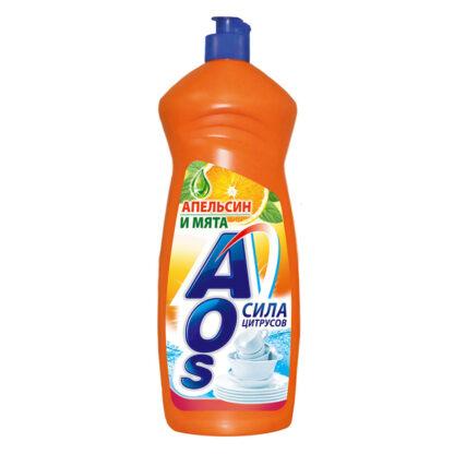 AOS Апельсин и мята средство для мытья посуды 1л