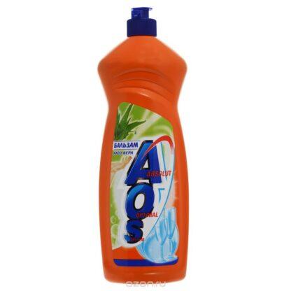 AOS бальзам Алоэ вера 1 л средство для мытья посуды
