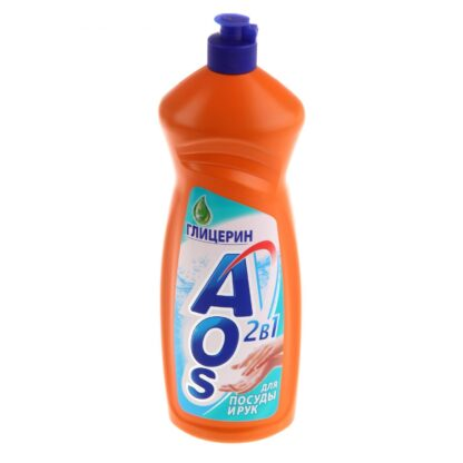 AOS Глицерин средство для мытья посуды 1 л
