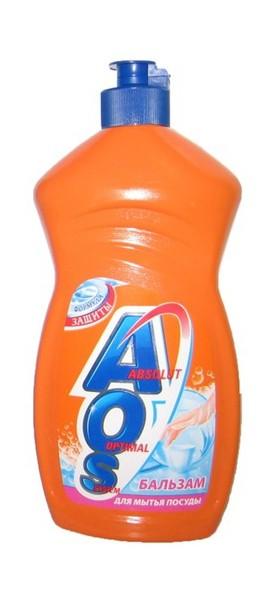 AOS бальзам 480 гр  средство для мытья посуды