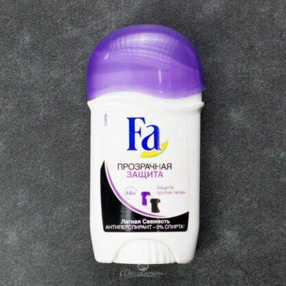 Fа прозрачная защита против пятен стик Дезодорант 150 мл