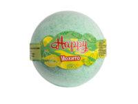 Happy махито Бурлящий шар для ванны 130 гр