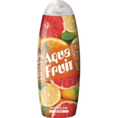 AquaFruit Active Citrus Mix Гель для душа 420 мл