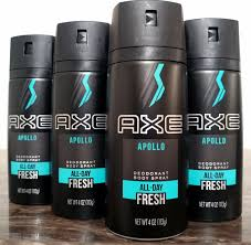 AXE Apollo fresh спрей Дезодорант 150 мл