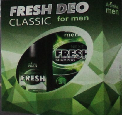FRESH DEO Men Classic (Дезодорант 120 мл + Шампунь 300 мл) Подарочный набор