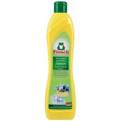 Frosch ecologial Лимон чистящее молочко для кухни и ванной комнаты 500 мл