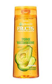 Garnier Fructis Тройное восстановление для сухих и поврежденных волос Укрепляющий Шампунь 400 мл