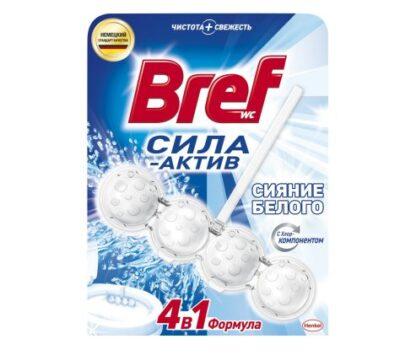Bref Сила-Актив Белоснежный Чистящ средство для унитаза 50 г