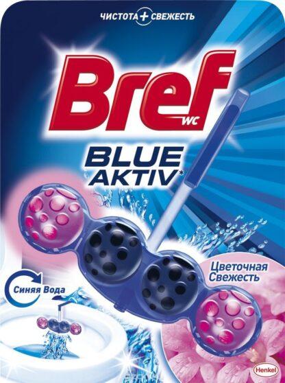 Bref Blue Aktiv Цветочная свежесть Чистящее средство для унитаза 50 г