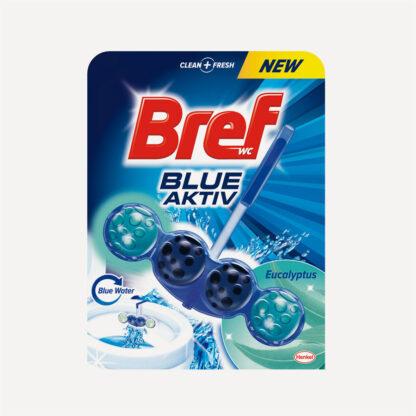 Bref Blue Aktiv Эвкалипт Чистящее средство для унитаза 50 г