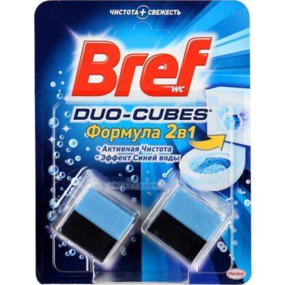Bref DUO-Cubes 2 в 1 Чистящее средство для унитаза 2*50 г