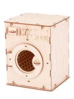 Polly чудо-игрушки стиральная машина 16*15*20 см 48 деталей деревянный конструктор