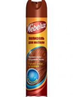 Mebelux с антистатиком полироль для мебели 300 мл