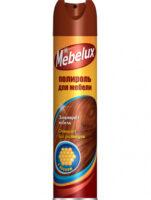Mebelux с воском полироль для мебели 300 мл
