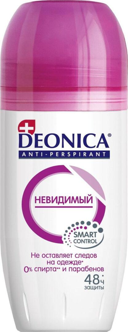DEONICA Невидимый 48 часов защиты ролик дезодорант 50 мл