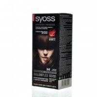 Syoss 3-8 темный шоколад крем-краска для волос