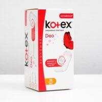 Kotex Deo нормал ежедневные прокладки 56 шт