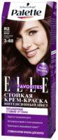 Palette 3-68 красное дерево Elle Favorites интенсивный цвет Стойкий крем-краска для волос