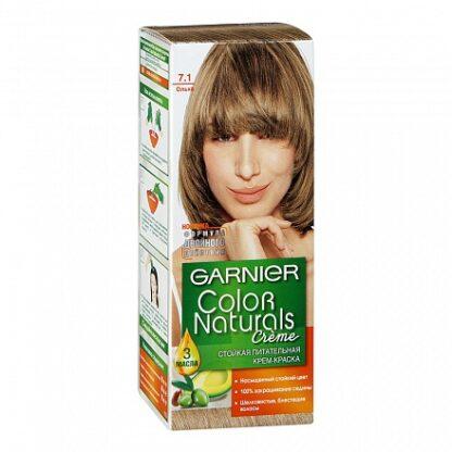 Garnier Color Naturals Крем-краска Ольха 7.1