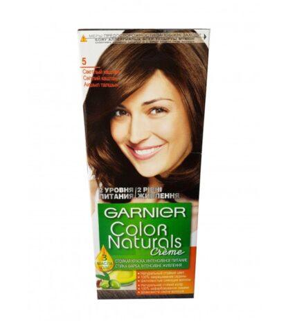 Garnier Color Naturals 5 светло-каштановый крем-краска для волос