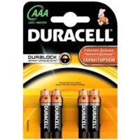 Duracell MN2400 ААА/4 щелочные мизинчиковые батарейки (цена за 1 шт)
