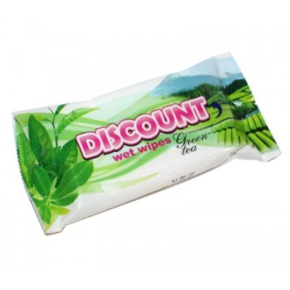 Discount Зеленый чай Салфетки влажные 15 шт