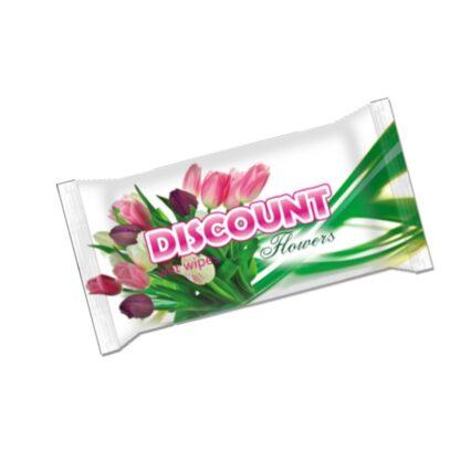 Discount Цветы Салфетки влажные 15 шт