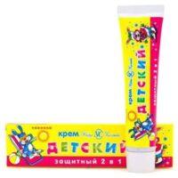 Невская Косметика защитный 2 в 1 Детский крем 40 гр