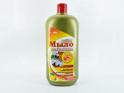 Aromika с лимоном 65% жидкое Хозяйственное мыло 1100 мл