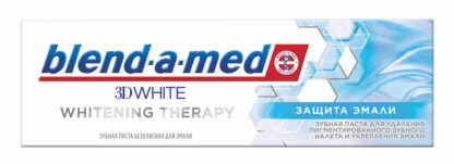 Blend a med 3D White Whitening Therapy защита эмали Зубная паста 75 мл