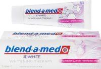 Blend a med 3D White Whitening Therapy отбеливание для чувствительных зубов Зубная паста 75 мл
