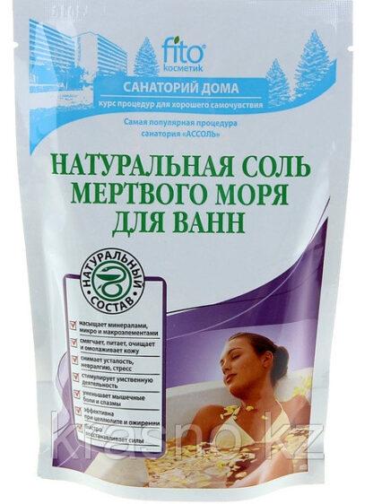 Fito Санаторий дома Натуральная Соль мертвого моря для ванн 530 гр
