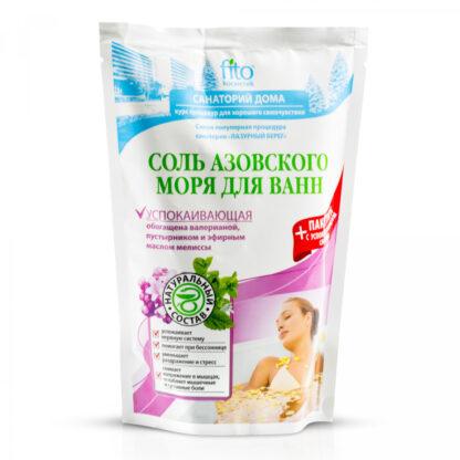 Fito Санаторий дома успокаивающая Соль азовского моря для ванн 530 гр