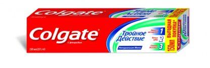 Colgate Тройное действие Зубная паста 50 мл