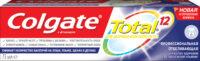 Colgate Total 12 Профессиональная отбеливающая Зубная паста 75 мл