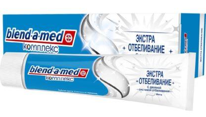Blend a med Комплекс Экстраотбеливание мята Зубная паста 100 мл