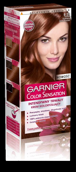 Garnier Color Sensation 6.35 золотой янтарь крем-краска для волос